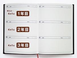 日記はその日の出来事を綴ることが主な目的になります