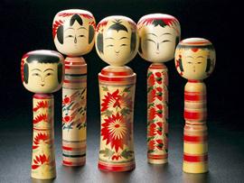 日本の伝統工芸(宮城伝統こけし)