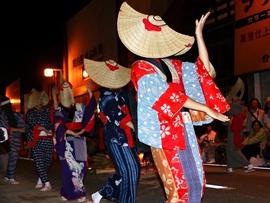 日本三大盆踊り(西馬音内の盆踊り)