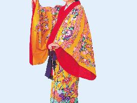 日本の伝統工芸(琉球紅型)