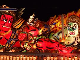 日本の夏祭り(青森ねぶた祭)